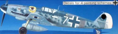 MC Me BF-109 G-6 R6 109G-6 Bomber Killer 1:72 NEU OVP Modell-Bausatz Tipp kit