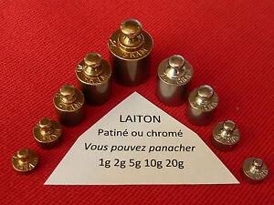 POIDS de BALANCE   1 gr en LAITON.