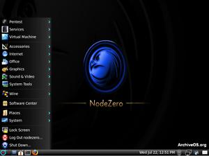 Image Is Loading Node Zero Linux Live DVD Penetration Test Exploit