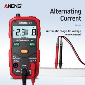 Digital LCD Multimeter Voltmeter DC AC Amperemeter Messgerät Tester Strommesser