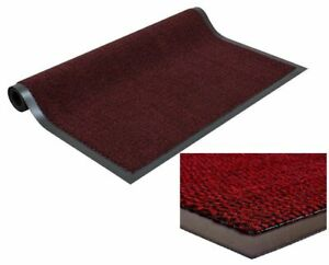 Red-Polypropylen-Barrier-Heavy-Duty-Mat-Non-Slip-Rug-Floor-Office-Home-60-x-90cm