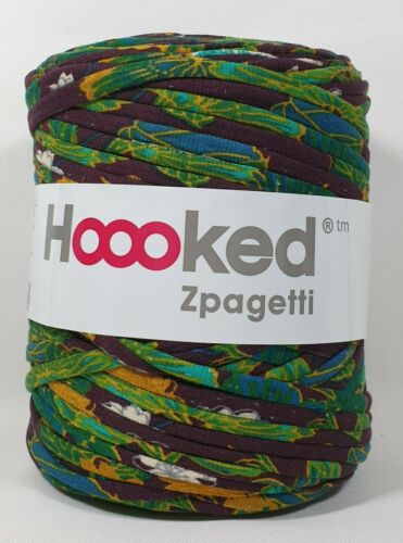 tejer 900 ganchillos Hoooked /'zpagetti sustancia Garn tropical evening multicolor/' nuevo