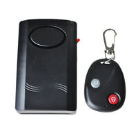 Wireless Remote Control Door Window Vibration Security Detector Burglar Alarm E8