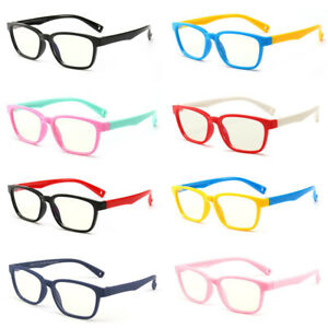 Details about Kids Blue Light Blocking Glasses Child Anti Eye Strain for  3-12 years Old