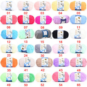 Multicolor-New-Cotton-Chunky-Hand-woven-Milk-Cotton-Knitting-Scores-Wool-Yarn-HT