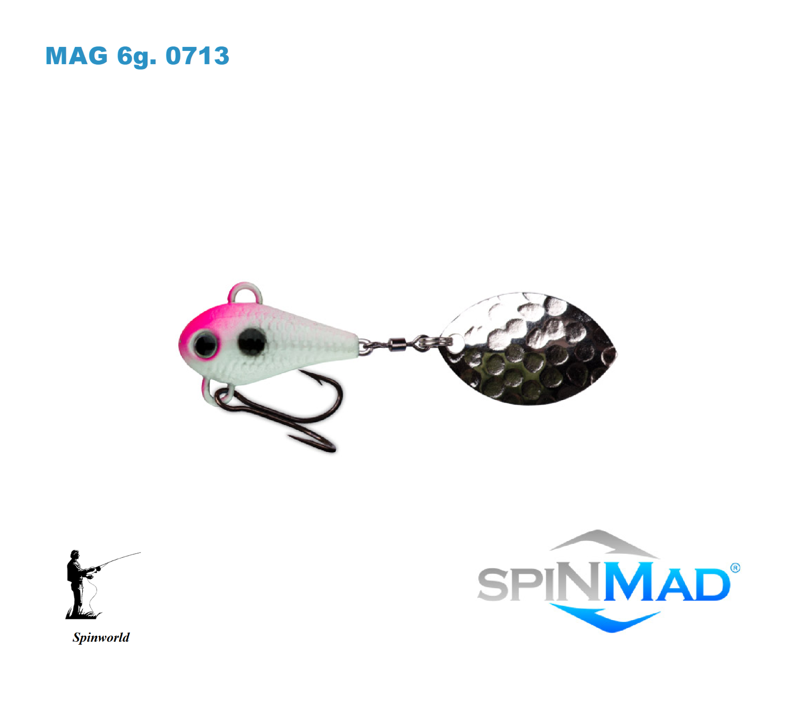 Spinmad Tail spinners MAG 6 G. 20 20 20 mm. Excellent pour la perche, chub, truite 5fda10