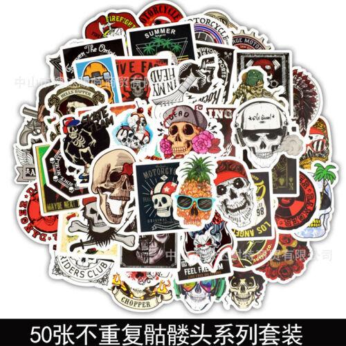 50Pcs Lot Stickers Bomb Decals Vinyl Roll Car Skate Skateboard Luggage Laptop