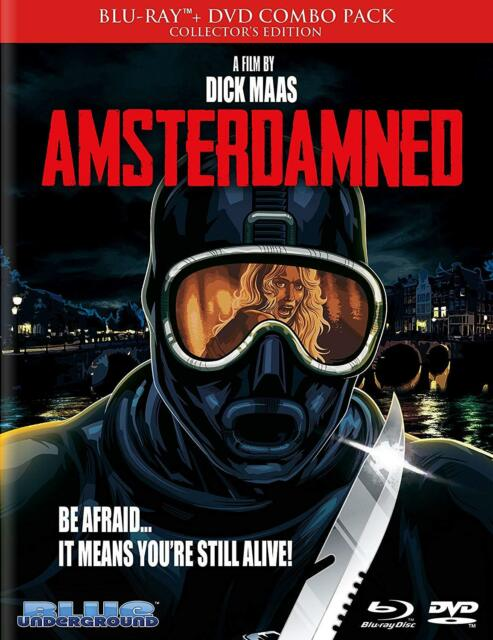 Amsterdamned (1988) Collector's Edition   Blue Underground   Blu-ray Region free