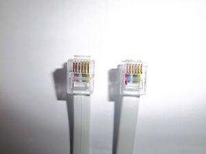NEW-6P6C-RJ12-RJ12-PATCH-LEAD-CABLE-VARIOUS-LENGTHS-1m-2m-3m-4m-5m