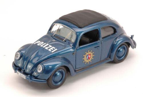 Volkswagen VW Beetle Polizei 1956 1:43 Model RIO4464 RIO