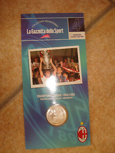 MEDAL-N-4-MEMORABLE-COLLECTIONS-MILAN-AC-CHAMPIONS-LEAGUE-1993-1994-CRUIJFF