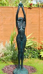 Female Sculpture Statue Water Feature Fountain Cascade