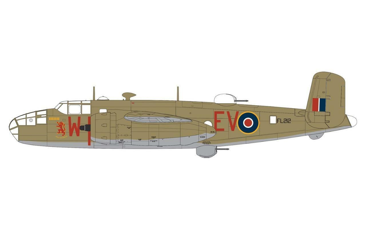 Airfix - A06018 - North American Mitchell Mk.II 1 72 SCALE BRAND NEW