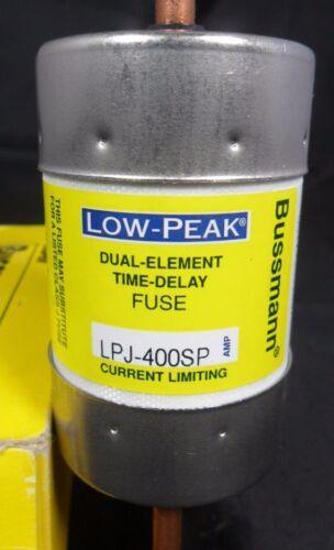 New  Bussmann LPJ-400SP 400 Amp Fuse Low Peak 600 VAC NIB