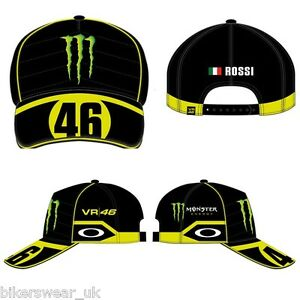 Image is loading VR46-VALENTINO-ROSSI-CAP-OFFICIAL-HAT-GENUINE-VRFORTYSIX- a4052704c72