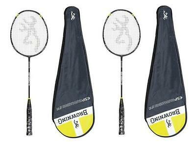 Hard-Working 2x Browning Esp Ti75 Titanium Badminton Rackets Rrp£400 To Win A High Admiration Badminton Badminton Sets