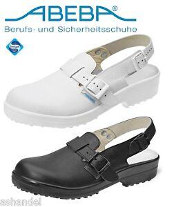 FidèLe – Classic Cuisinier Cuisine Chaussures Sabots Mules Arztschuh Soins Chaussure Sb-afficher Le Titre D'origine