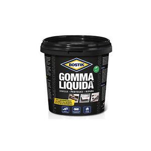 BOSTIK-GOMMA-LIQUIDA-750-ml-NERO-verniciabile-rivestimento-impermeabilizzante