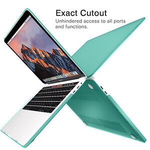 best cheap ffb96 79e60 Details about For Macbook Pro 13 A1708/A1706 (Touch Bar) 2016 Rubberized  Hard Case Shell Cover