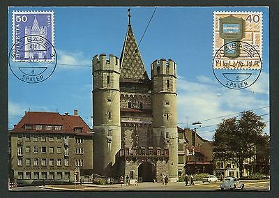 Architektur Angemessen Schweiz Mk 1979 704 Basel Spalentor Maximumkarte Carte Maximum Card Mc Cm D1391 Briefmarken