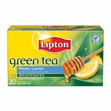 Lipton Green Tea Honey Lemon Decaffeinated Tea Bags