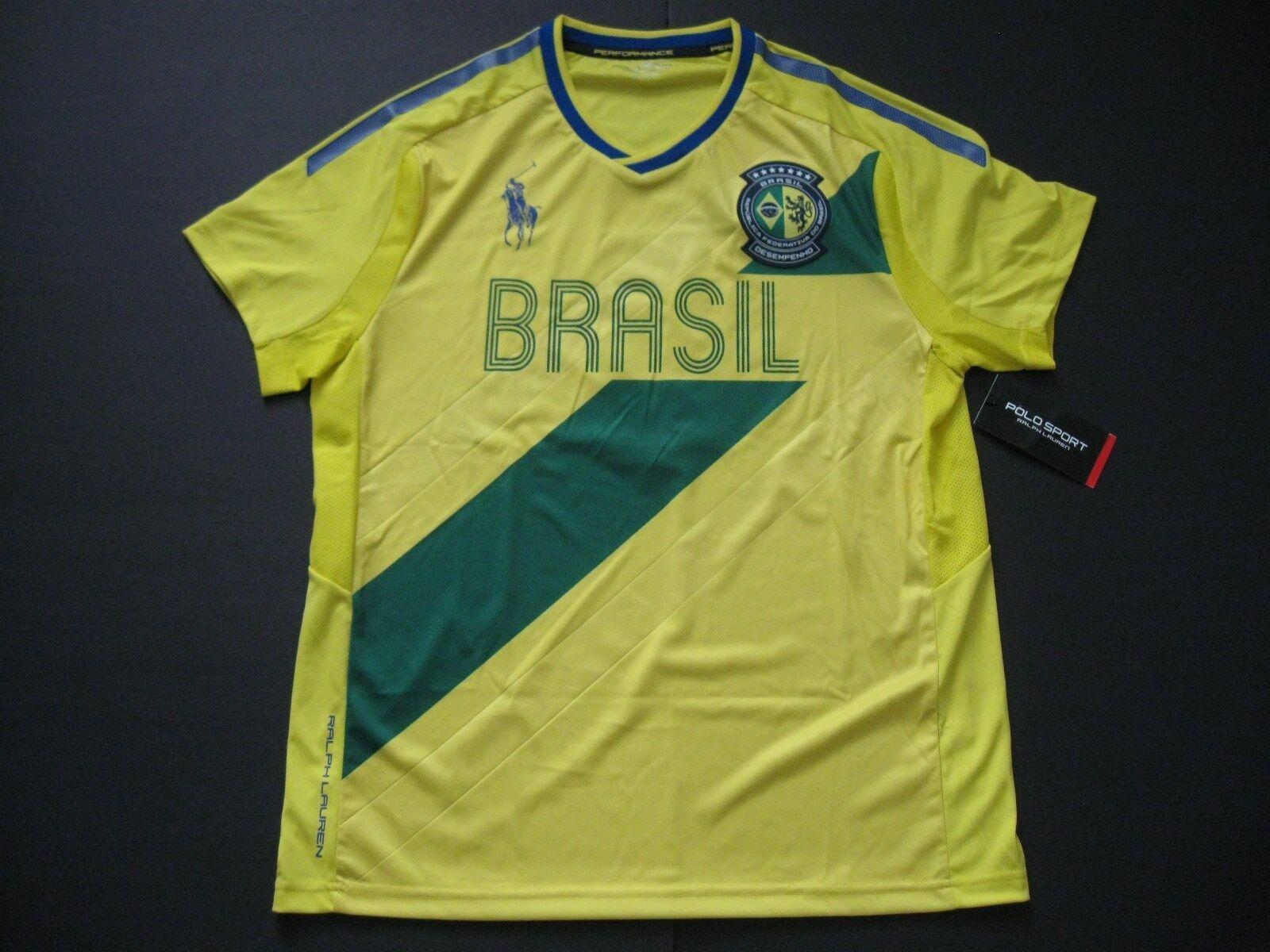 RALPH LAUREN POLO SPORT Men's Brasil Country Jersey Performance T-Shirt M