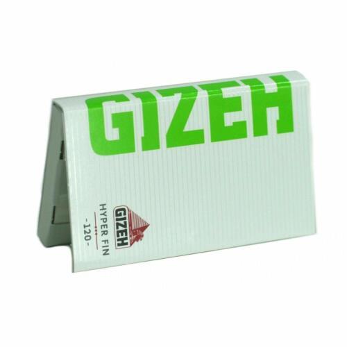 Gizeh Papier à Rouler Hyper Fin feuilles courtes fermeture aimantée X 20
