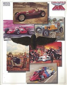 OFFICIAL-1992-INDIANAPOLIS-MOTOR-SPEEDWAY-RACE-DAY-PROGRAM