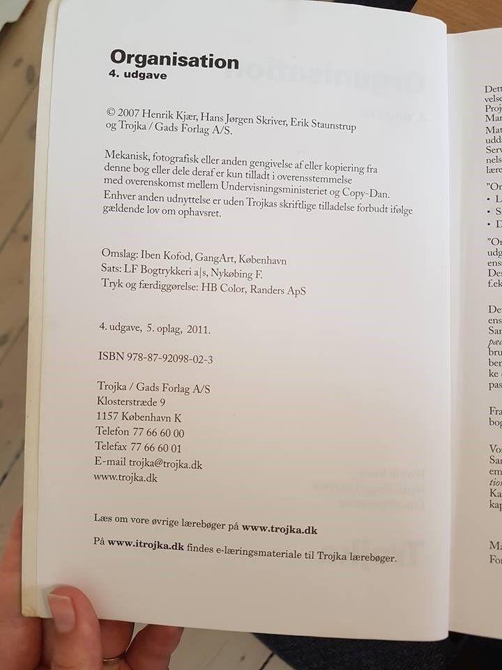 Organisation, Henrik Kjær, Hans Jørgen Skriver & Erik