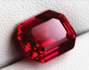 26-35CT-Pigeon-Blood-Red-Ruby-13x18MM-Rectangle-Cut-AAAA-Loose-Gemstone-Gifts