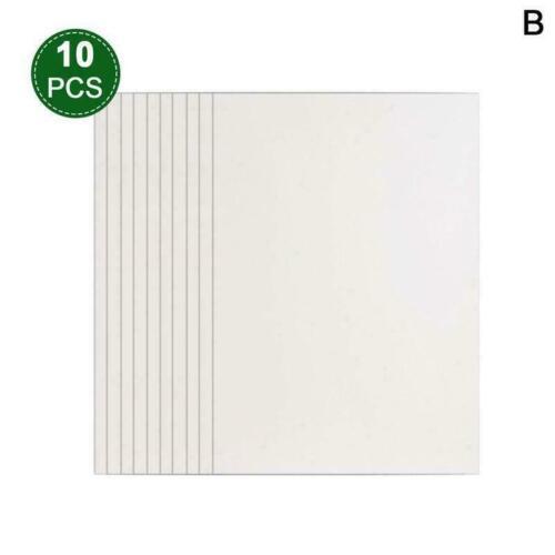 4//10//20 pcs Puzzle Saver Peel Transparent Backing Puzzle Sheets Film L9J5