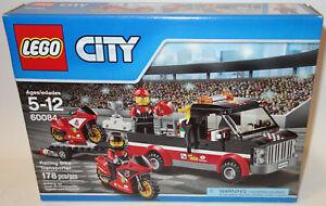 NEW LEGO CITY Racing Bike Transporter 60084 OCTAN TRUCK ...
