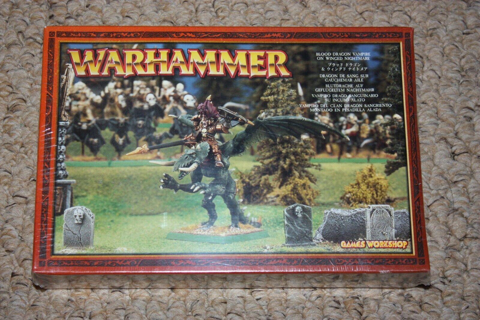 Games Workshop Warhammer Warhammer Blood Dragon Vampire on Winged Nightmare Undead New OOP