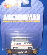 MATTEL HOT WHEELS HOLLYWOOD MOVIE & TV SHOWS COLLECTIBLES ANCHORMAN, NEW