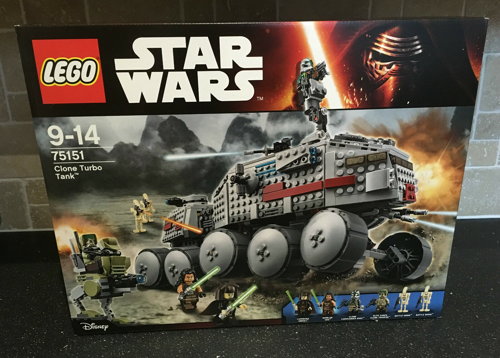 LEGO STAR WARS - 75151 Clone Turbo Tank Brand New In Sealed Box