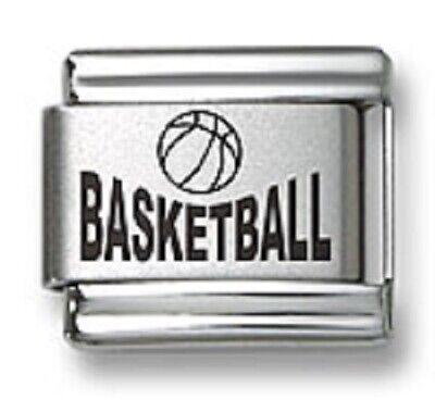 Basketball Italian Link Bracelet Charm
