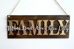 Personalised-Wooden-Family-Plaque-Names-Gift-Wall-Door-Home-Decor