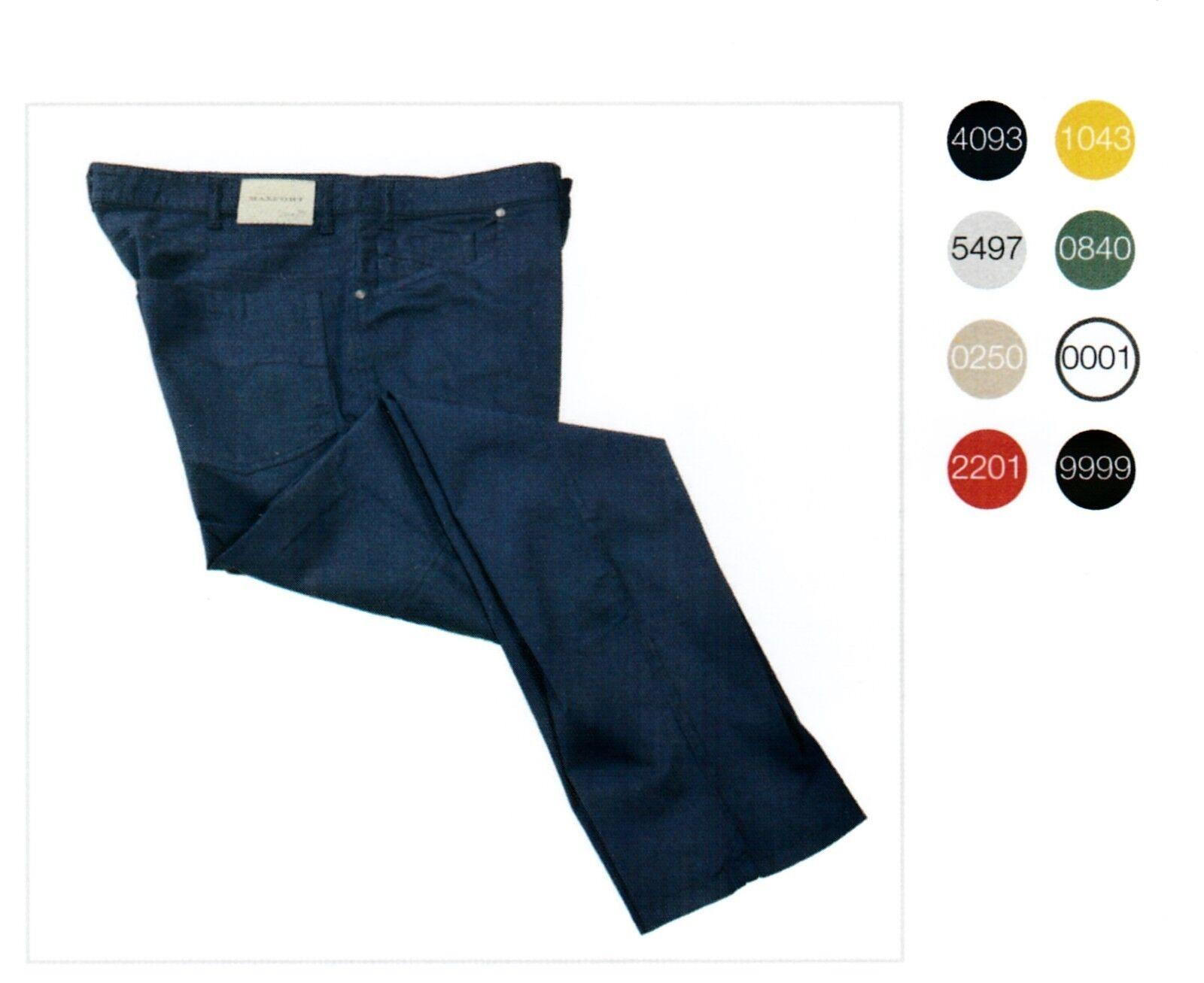 Maxfort gregorio pantalone uomo cotone taglie forti big Dimensione short pants jeans