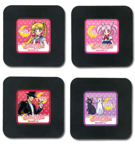 *NEW* Sailor Moon R: Set 1 Coaster by GE Animation