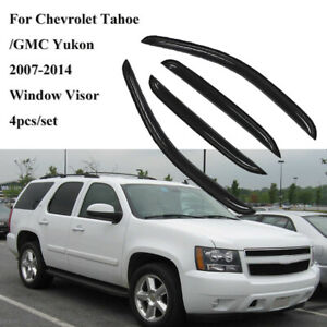 In-Channel Model Specific Window Visor 4pcs For Chevrolet Tahoe 2007-2014