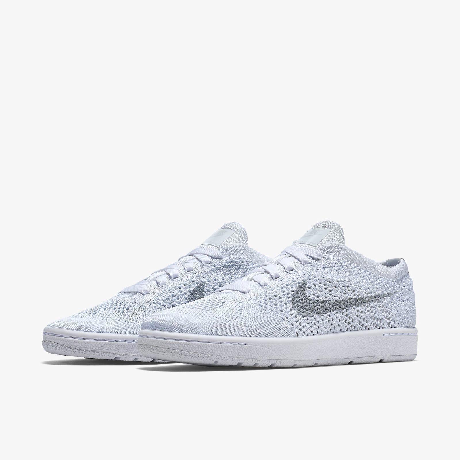 cheap for discount a240c 78089 ... france nuove nike tennis classico ultra flyknit scarpe femminili sz sz  femminili 12 bianco 833860 101