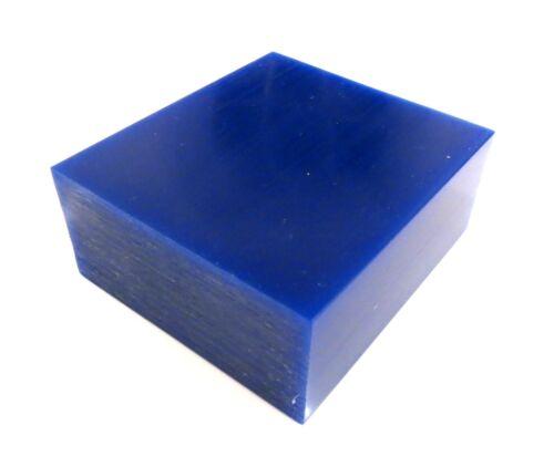 BLUE WAX BLOCKS JEWELLERY LOST WAX CASTING 90mm x 80mm x 37mm