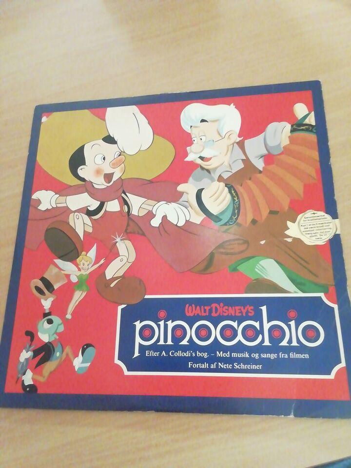 LP, Pinocchio, Disney