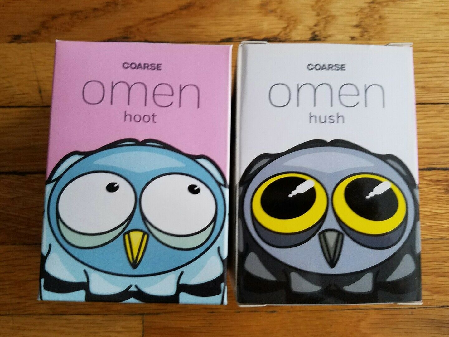 Coarsetoys Omen Blink 3.5  Owl Hoot & Hush SDCC exclusive