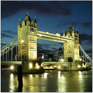 Sticker déco London Bridges Réf 479 - 16 dimensions - Sticker mural