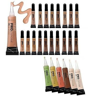 2 L.A. LA Girl Pro Conceal HD. High Definition Concealer & Corrector -Pick Any 2