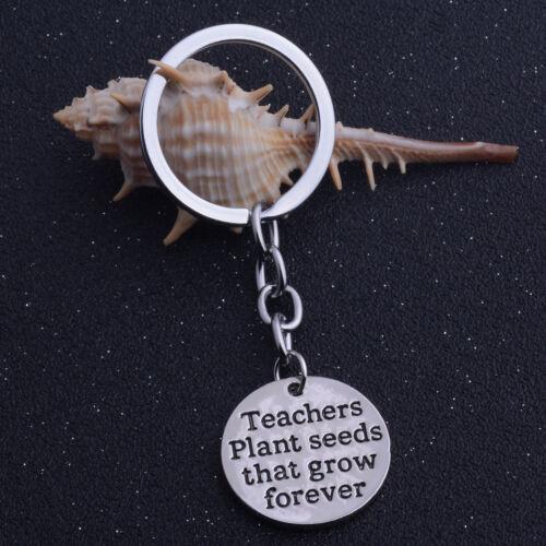 GIFT FOR TEACHER MOTHER Keyring Love Heart Pendants Charms Keychain Best Friend