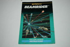 Beamrider-Intellivision-Video-Game-Manual-Only