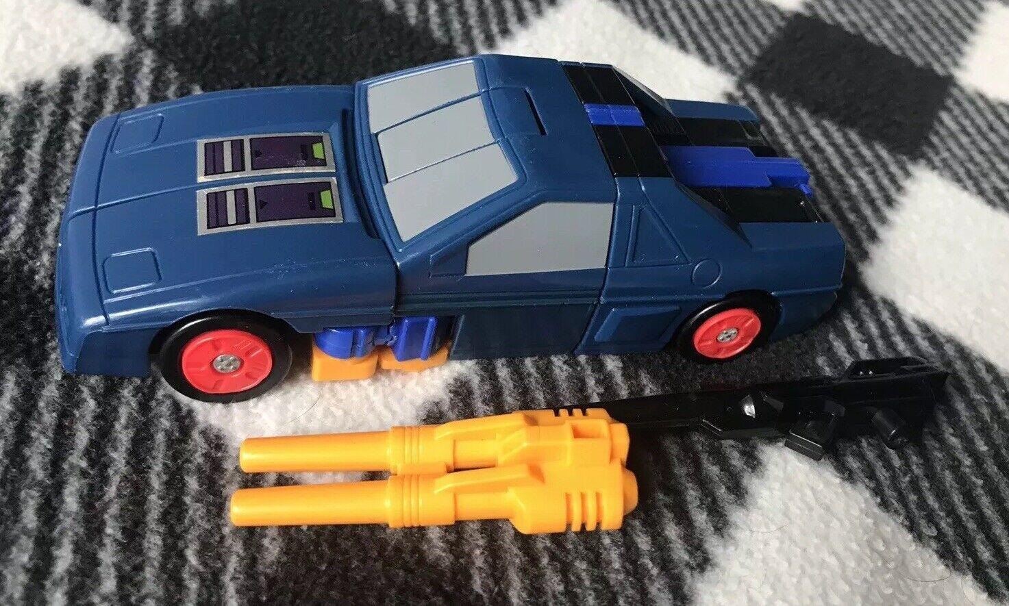 Transformers G1 Punch-contragolpe con armas 1987 auténtico 100% Completo