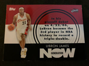 LEBRON-JAMES-2007-08-Topps-Generation-Now-SP-Insert-GN1-Cavs-Lakers